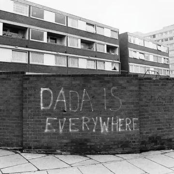 Tagged walls London