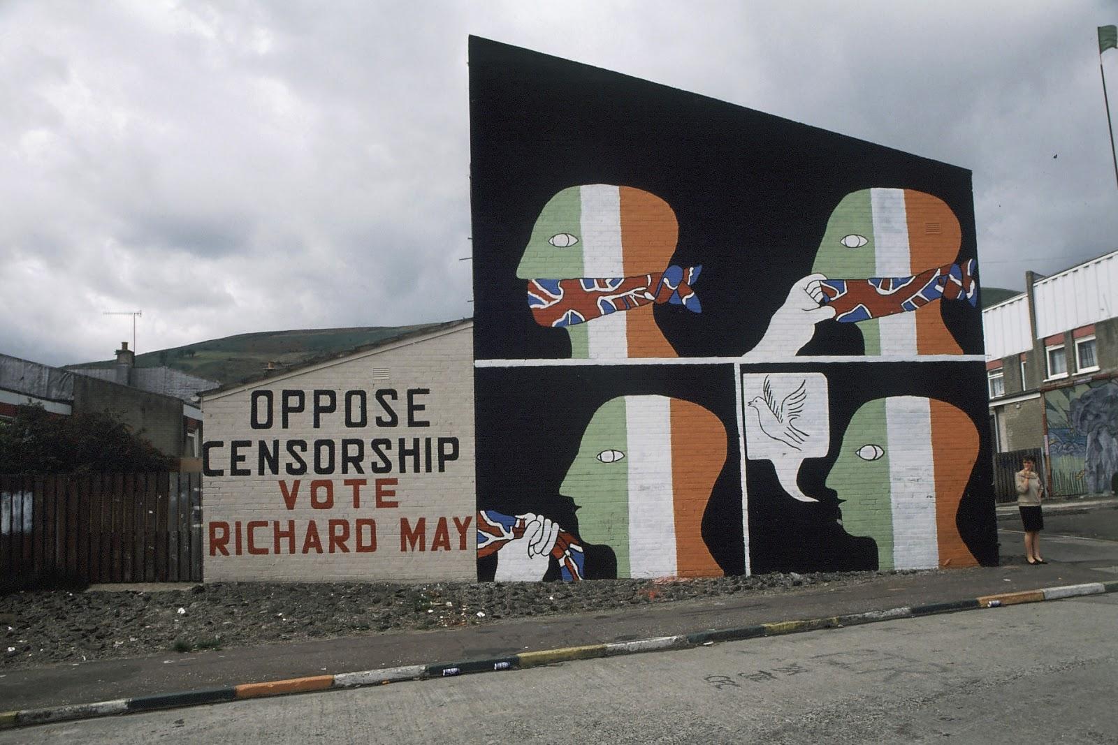 Springhill avenue, Belfast 1984 Censorship.